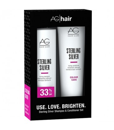AG Sterling Silver Toning Holiday Duo